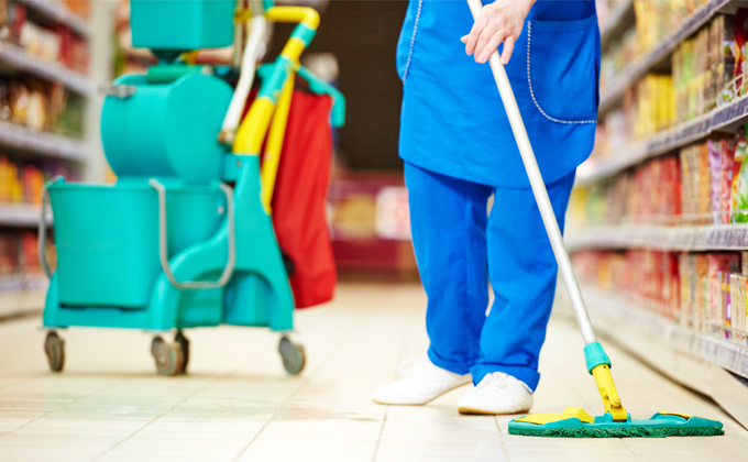 Retail Cleaning by Simplicity Services London